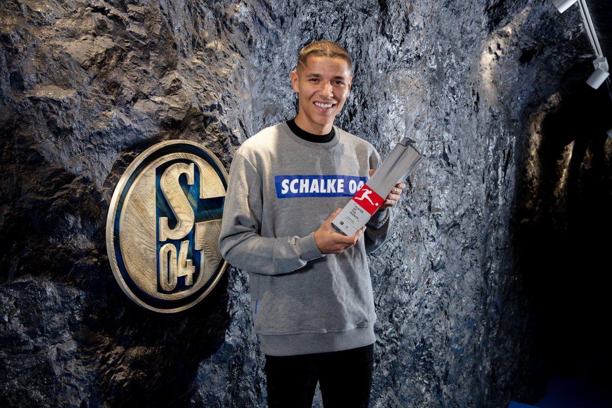 OFFICIEL ! Amine Harit a été élu Joueur du mois de septembre en Bundesliga. 🇲🇦 📸 @s04