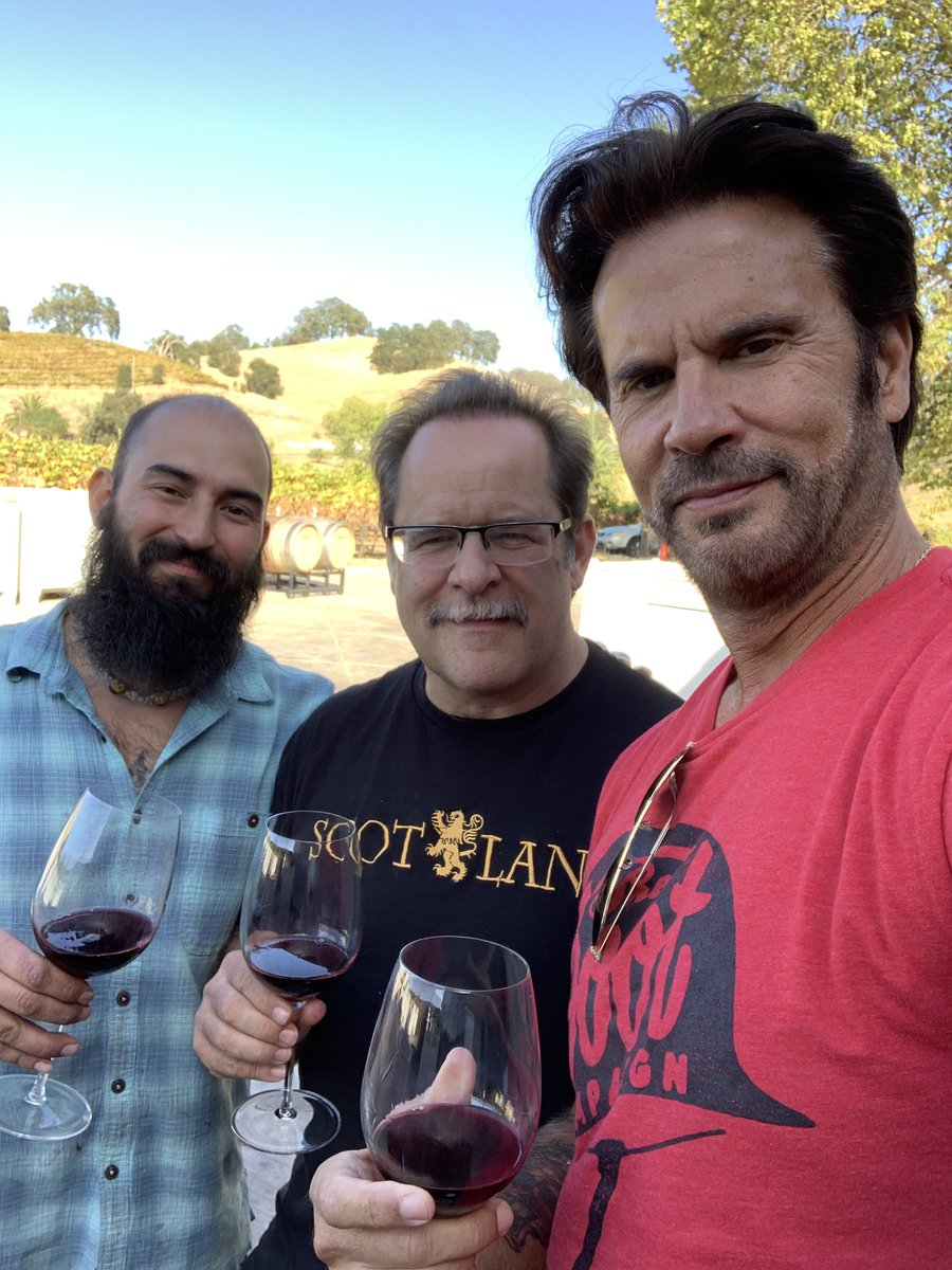 Enjoying a day in wine country with Frank Vezer of vezer.com and vintner Jake!