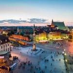 Image for the Tweet beginning: Washington DC to Warsaw, Poland