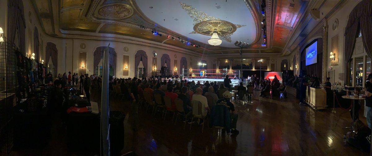 Impressive showing for @IMPACTWRESTLING's #PreludeToGlory, presented by @WrestlingTravel!  Tune in LIVE via @IMPACTPlusApp & @FiteTV! https://t.co/AqT16mfWgo