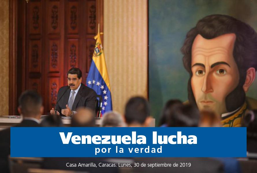 #PublicacionesMippCI 📚 | Venezuela lucha por la verdad.  Descargue aquí 📥 https://t.co/ijmEHLxT3Y https://t.co/5vNNDNyVmT
