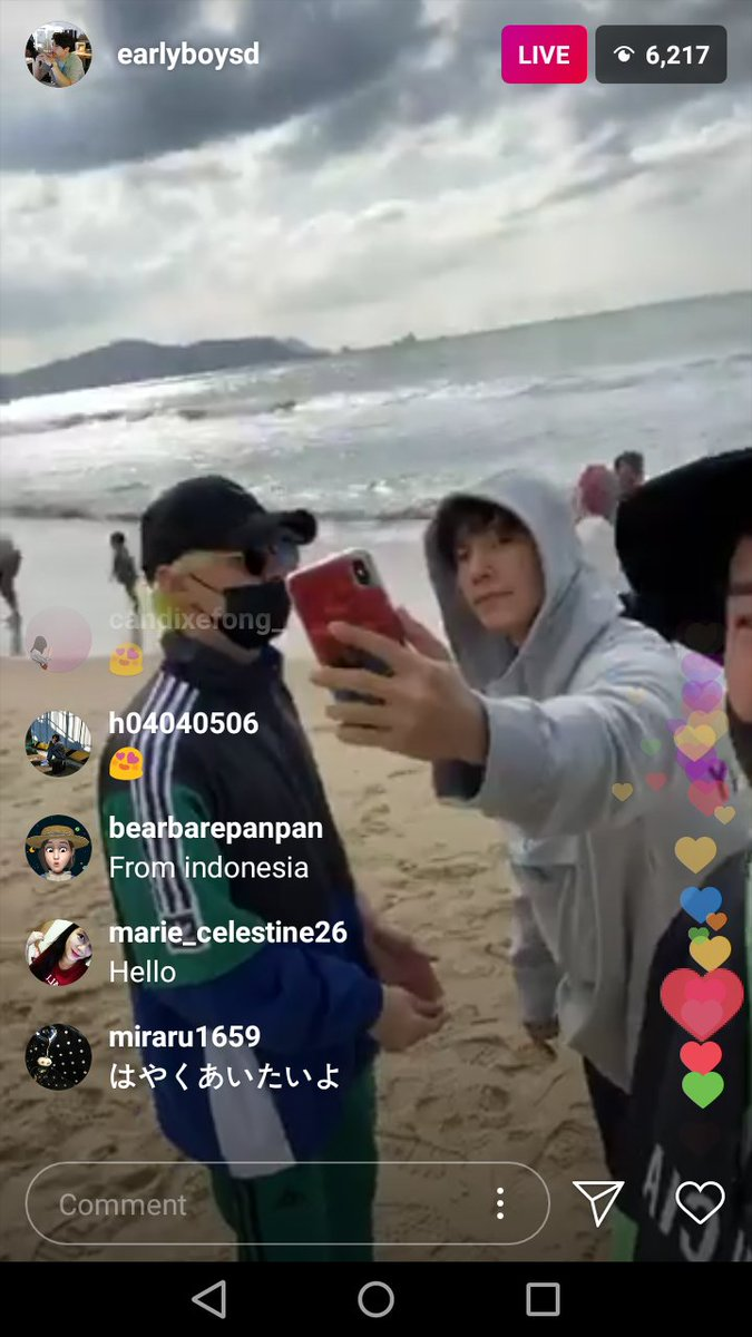Shindong IG live  SD : but there's so many couples here EH : it's really annoying    don't be jealous tennis ball <br>http://pic.twitter.com/xRZwb27NmY