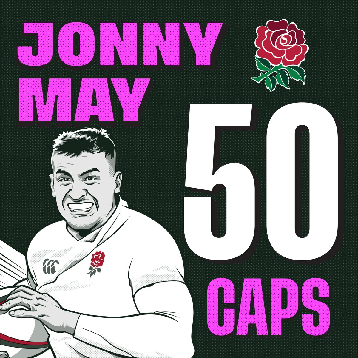 test Twitter Media - #ENGvAUS | Big shout out to Jonny May who wins his 50th England cap today against Australia 🌹  ➡ https://t.co/23WPP5fSHG  #RWC2019  #CarryThemHome https://t.co/ltm5UbY16G