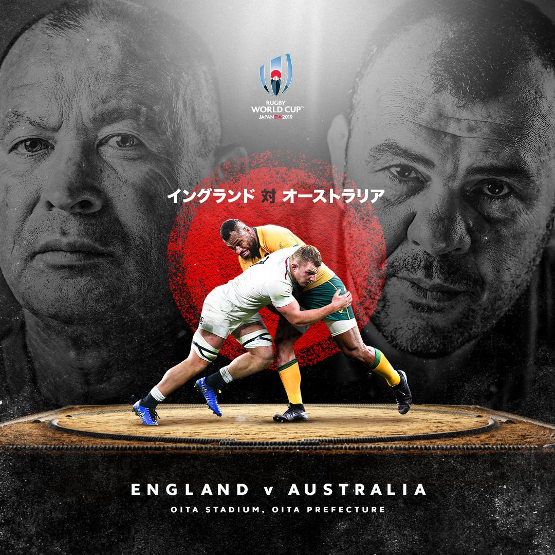test Twitter Media - Quarter-finals Saturday. It's been too long.   #ENGvAUS - 16:15hrs  #NZLvIRE - 19:15hrs    All times (JPN local)  Find out where to watch: https://t.co/z0BgdPYBjN https://t.co/2LjASYcisV