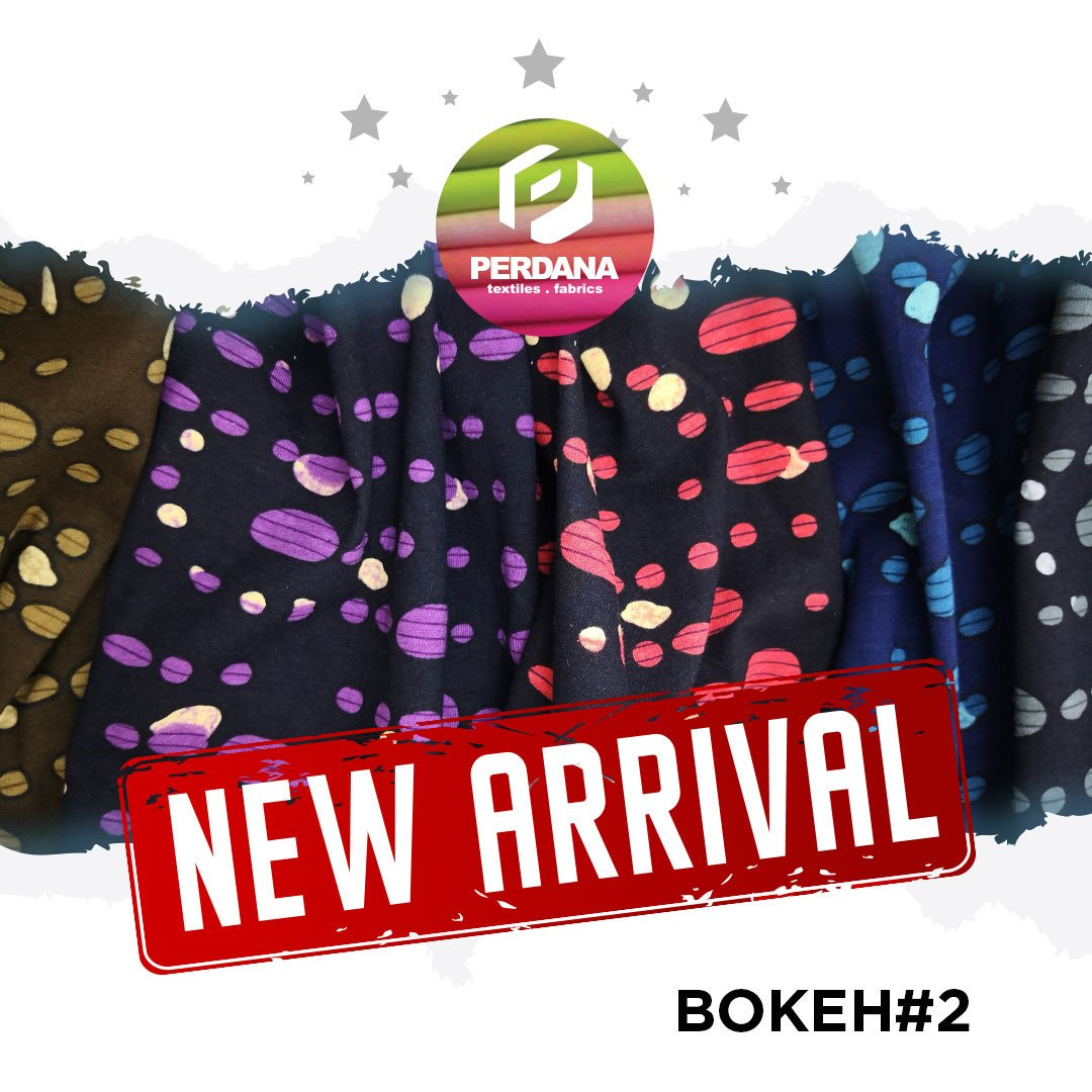 "BOKEH#2 (1) NEW ARRIVAL, LIMITED EDITION 100% Cotton 30S 150-160 GSM 72"" Open Width Full Print Reactive  Booking Info : 0823-1459-9992 > Yogyakarta 0812-4956-3379 > Malang  #textile #fabric #bokeh #amazing #perdana #kaos #bahankaos #gamis #bajumuslim #kulot #kerudung #hoodie"