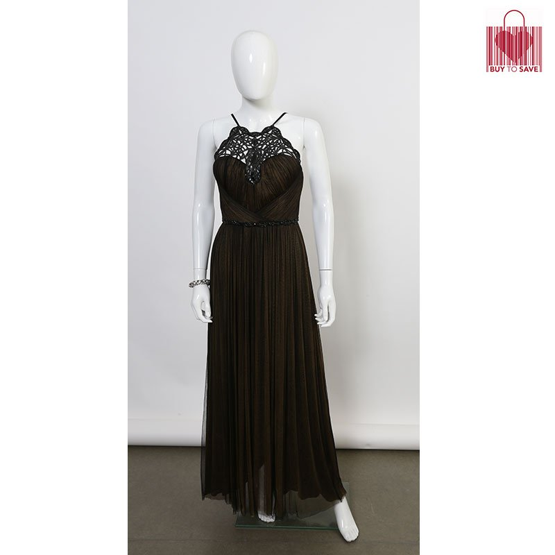 Be the Belle of the Ball in this olive green Catherine Deane gown.  Follow buytosavesg on Instagram and Buy To Save on Facebook for more information on the price!  #buytosave2019 #sustainablefashion #gowns #belleoftheball