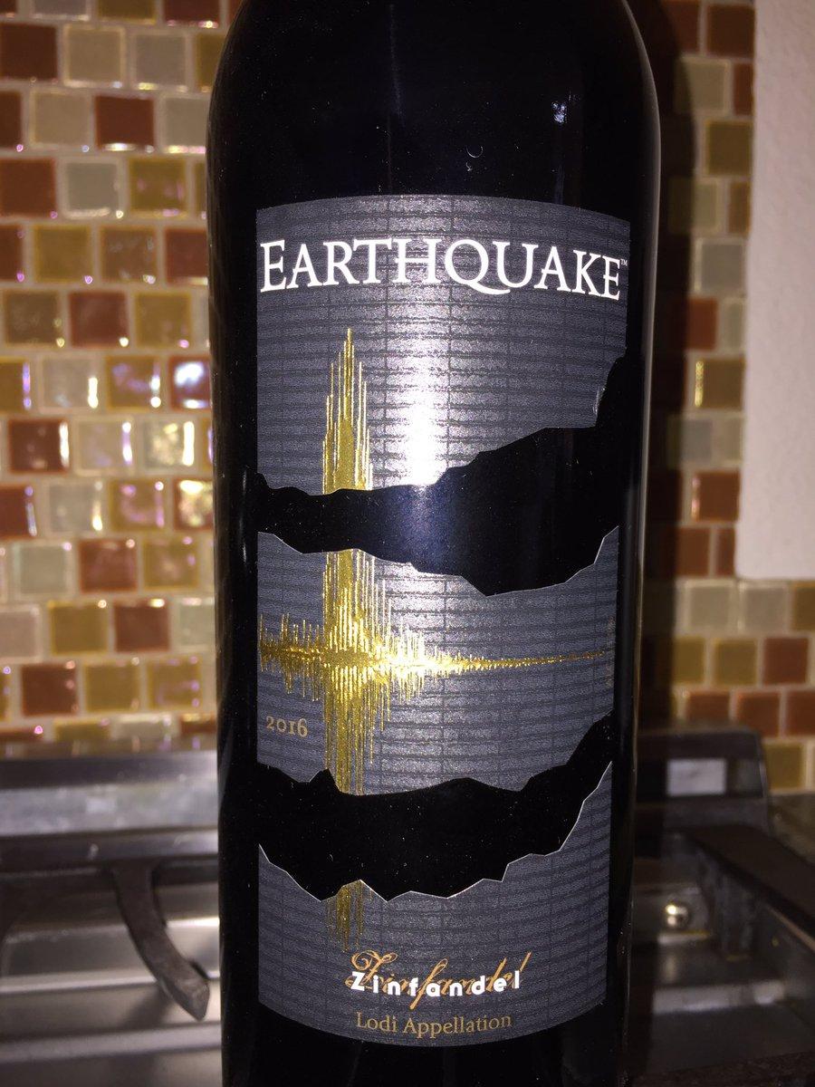 Seems right. Friday night. Quakes north & south. #ShakeOut #LomaPrieta anniversary. #EarthquakeLA