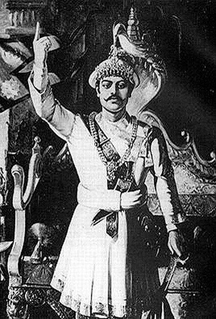 Shree 5 Bada Maharajadhiraj Prithvi Narayan Shah Image, He is the founder of modern #Nepal