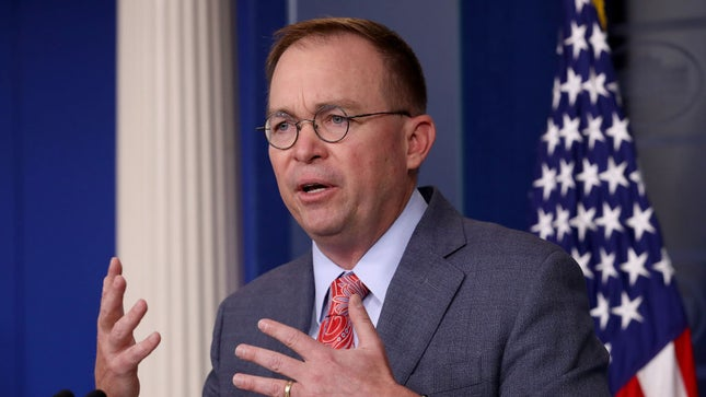 """GOP lawmaker rips Mulvaney: """"Are we trying to exculpate Russia?""""  http:// hill.cm/FD6xXmj    <br>http://pic.twitter.com/VA6MVjEyrO"""
