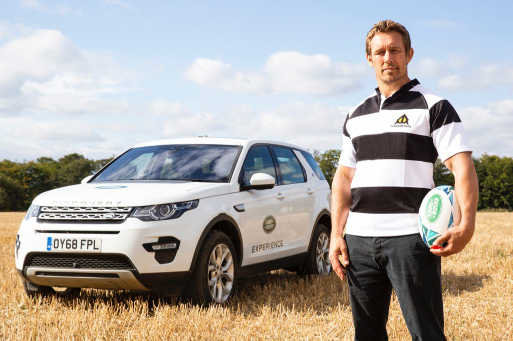 Thanks @LandRoverRugby 4 my @farnham_rufc shirt. The memories it holds. Share ur 1st XV stories with #LandRoverRugby