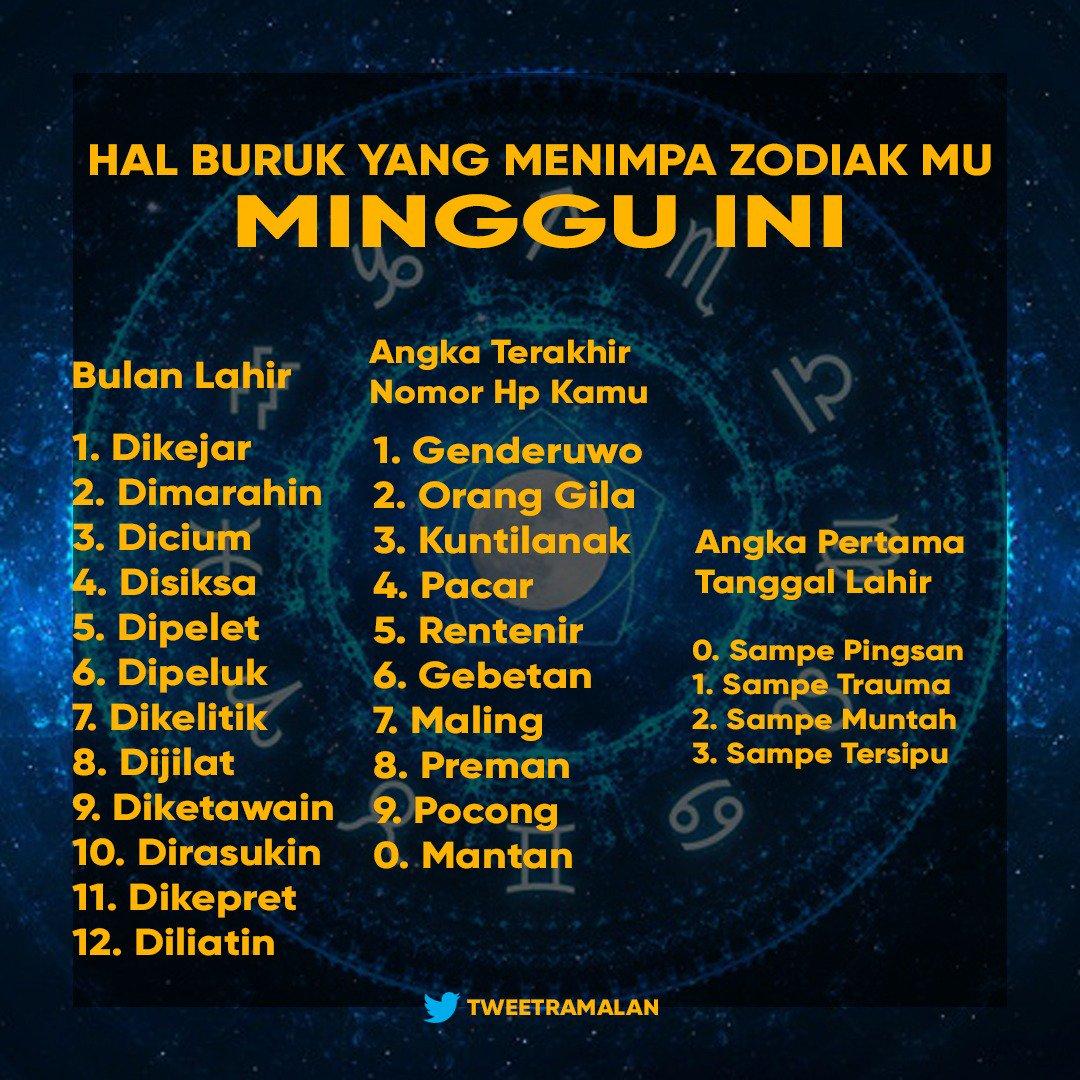 Ramalan No 1 Di Indonesia Tweetramalan Twitter