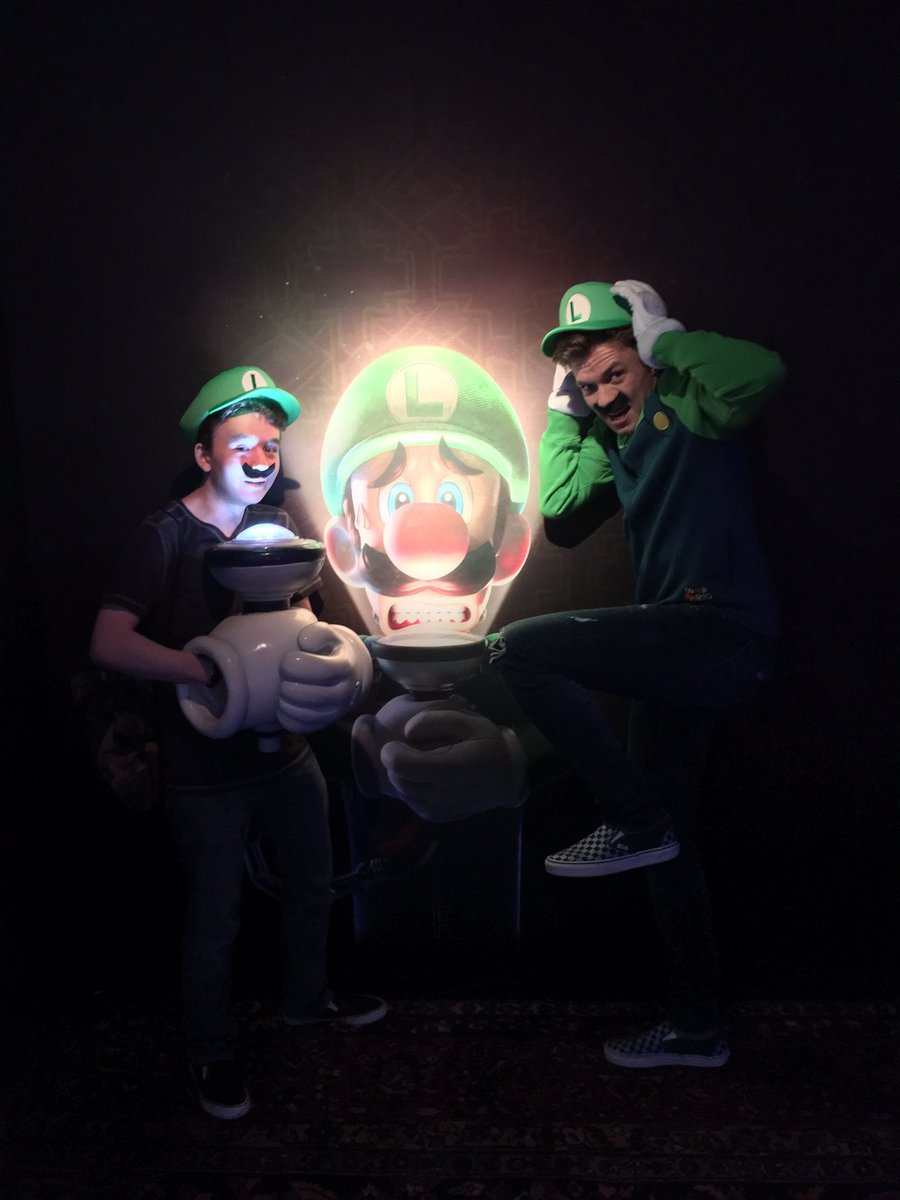 Thank @NintendoAmerica for the invite #LuigisMansion3 #NintendoSwitch Launch Party 🎉