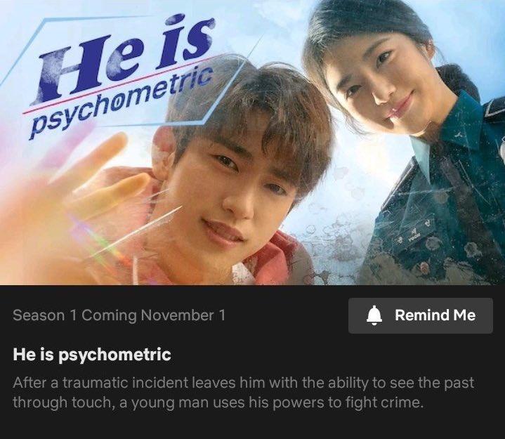 [NOTICE] #GOT7 's #Jinyoung will be on Netflix in November!! Let's all have a marathon?   #HeIsPsychometriconNetflix @GOT7Official<br>http://pic.twitter.com/73TtoDwbk1