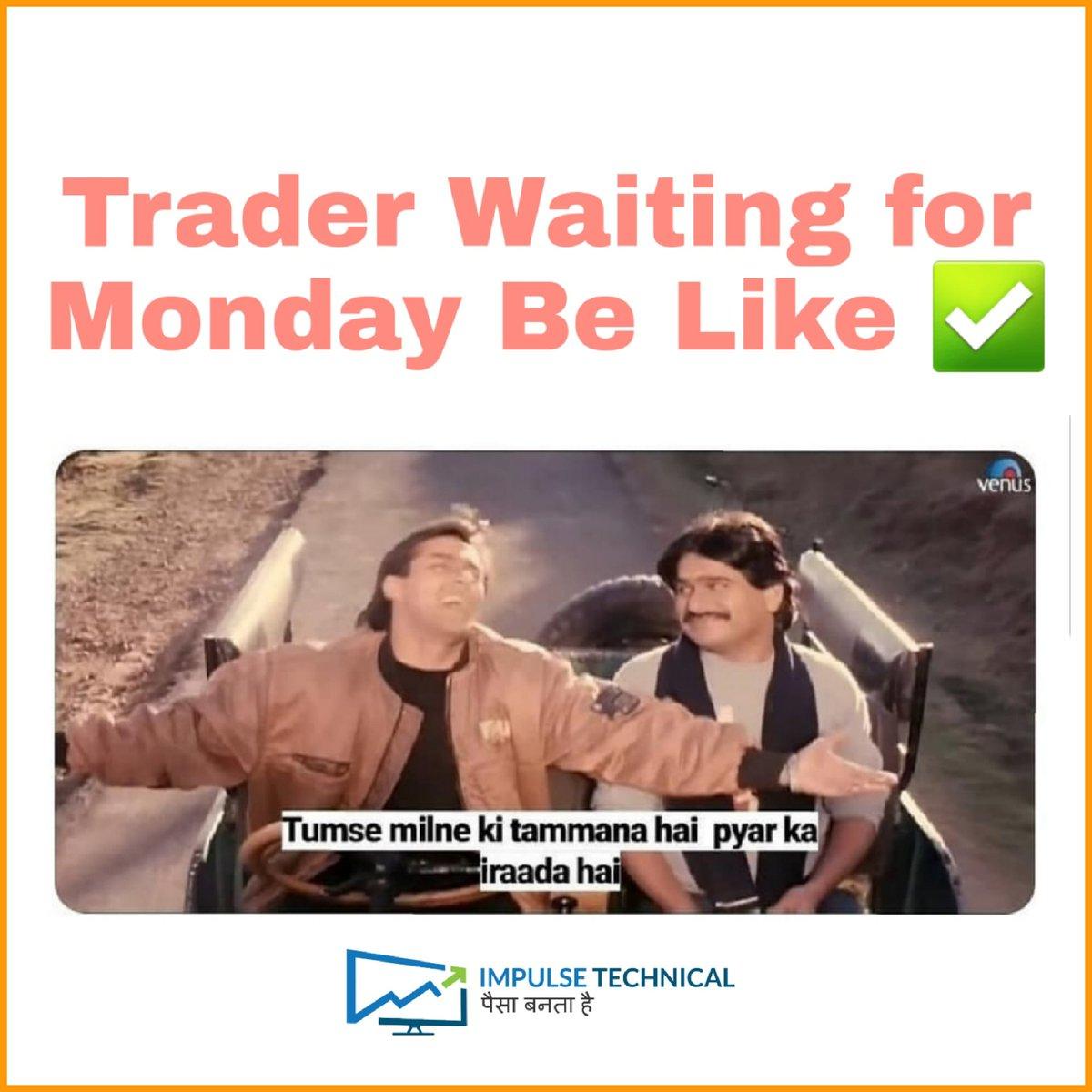Hota hai , Hot Hai..  Trading mein , No Stop Loss , No Profit ..  Only Trading   #mondayquotes #mondaymood #tradingonmonday #mondaymotivation #stockmarketquotes #tradingquotes #sharemarketmeme<br>http://pic.twitter.com/xKtIfqwnZm