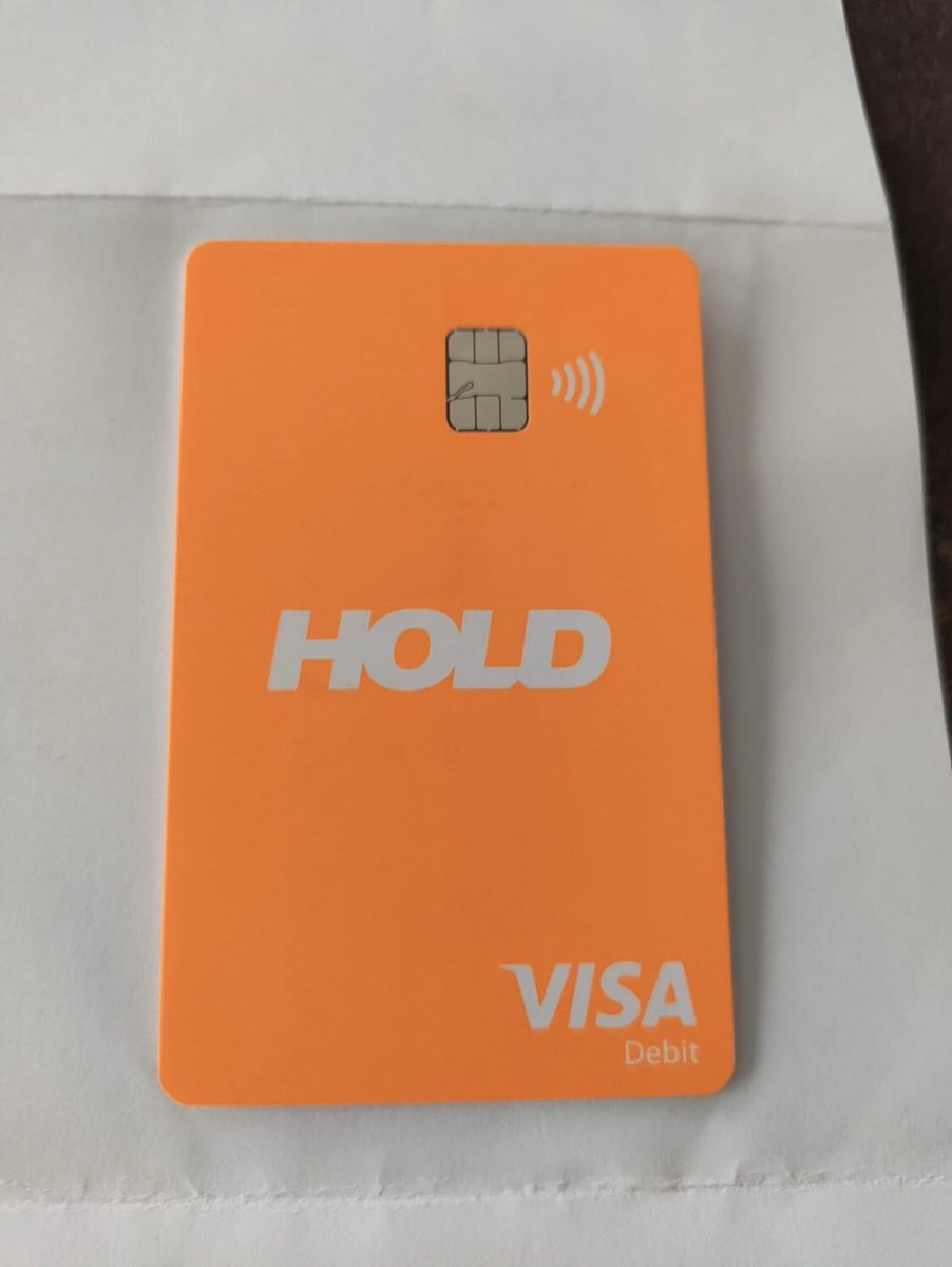 More and more people get the HOLD Visa® debit card! Have you orders yours yet? 💫  #crypto #fintech #cryptofintech #zerofeecrypto #bitcoin $btc #cryptocurrency #fintechnews #blockchain