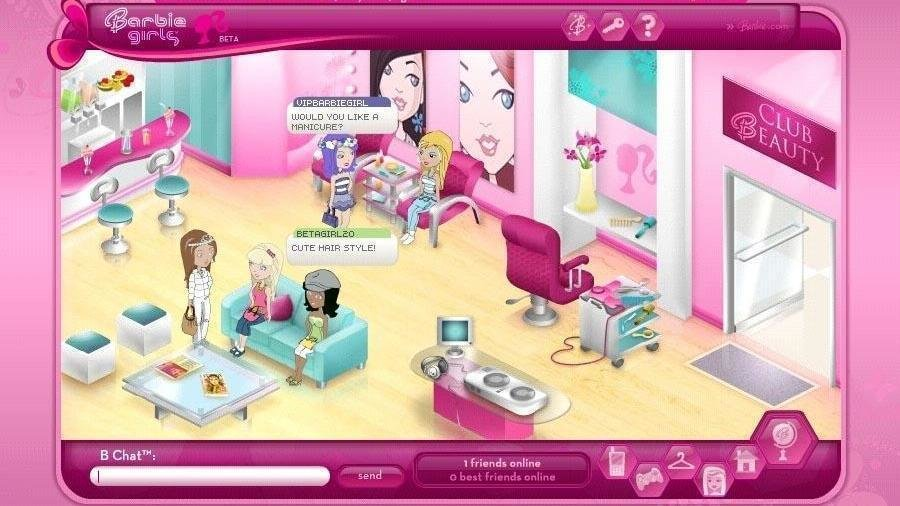 BarbieGirls (dot) com would have been an awesome game if it still stayed online! (I was there during the beta) #MyUnpopularGameOpinion