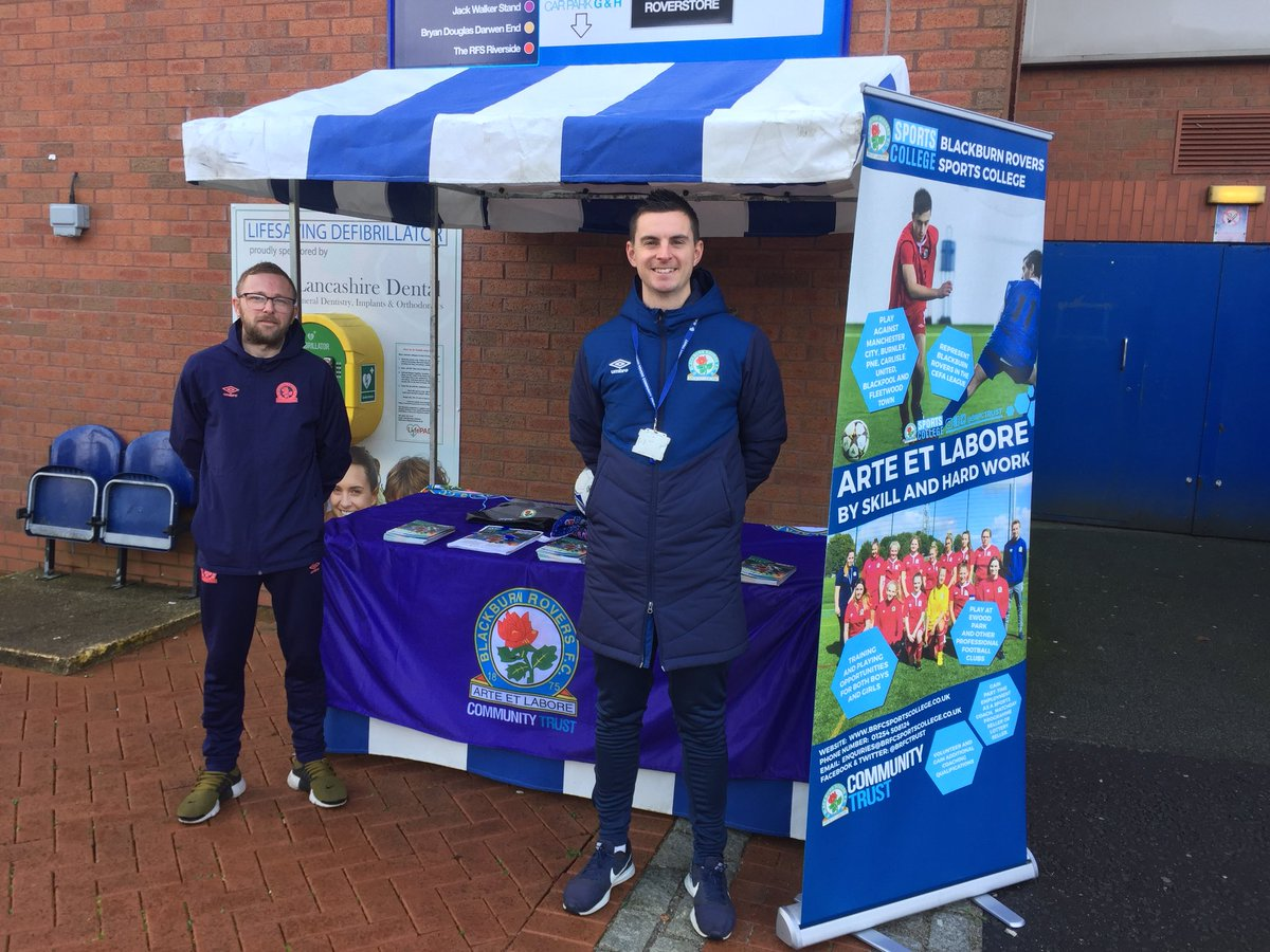 Our market stall is up and running here in the Fanzone!   Come down to find out about all our fantastic courses and events!   #ROVvHUD <br>http://pic.twitter.com/ta4V1Vx3FS