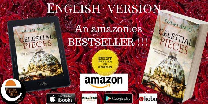 CELESTIAL PIECES: A perilous secret has been hidden for centuries #NEW English version an  http:// amazon.es     #bestseller web==  http:// delmianyo.com/english       @amazon   https:// relinks.me/1071512498       @Apple   https:// relinks.me/1480095392    <br>http://pic.twitter.com/hxLg2mP3P9