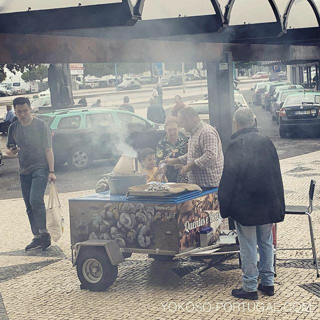 test ツイッターメディア - リスボンは、栗の季節になりました。 #リスボン #ポルトガル https://t.co/cF4KDVaPMX