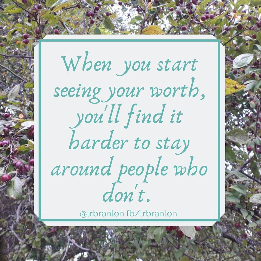When you start seeing your worth, you'll find it harder to stay around people who don't.   #quoteoftheday <br>http://pic.twitter.com/XRGsUSCr5I
