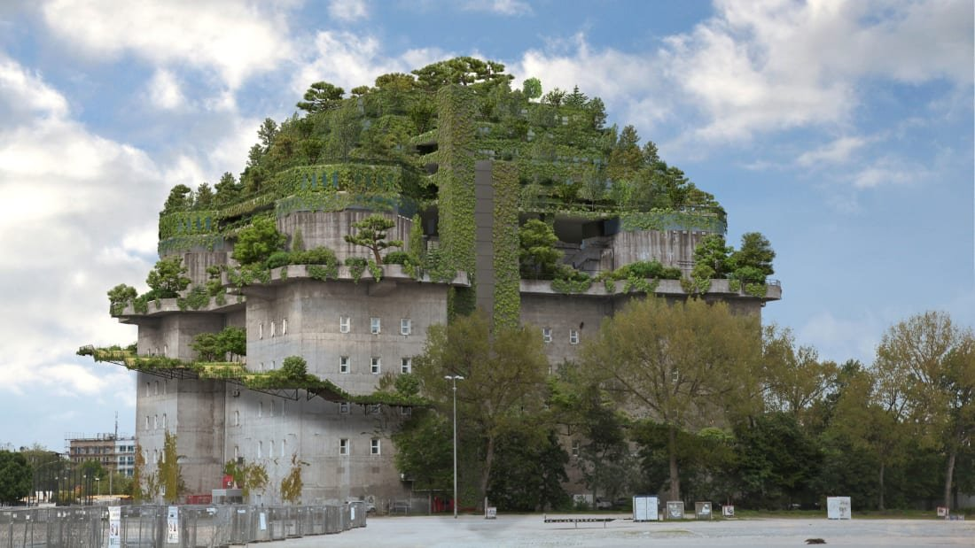 This former Nazi bunker is being transformed into a luxury hotel with rooftop garden  https:// cnn.it/2oUG8ox    <br>http://pic.twitter.com/G4j1HzMFDR