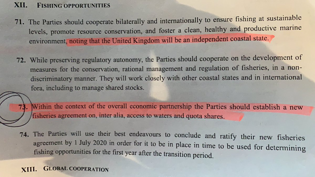 EU access to our waters and quotas? People, this is the actual thing MPs are about to vote on. Have you read it? I have. It is SHOCKING. I cannot allow my country to sign a treaty where it's in servitude to the EU for futurity. This is not 'Brexit done'. This is UK sold to the EU