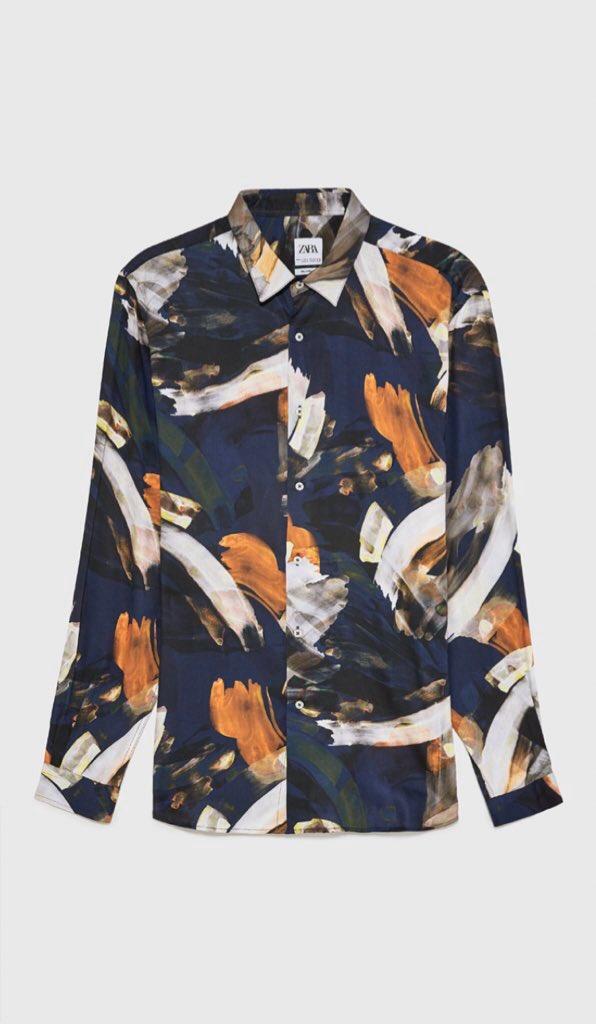 ZARAのメンズシャツがメチャカワです