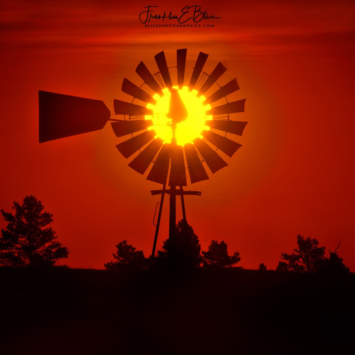 New post (##Windmill ##Sun #Filter) has been published on Bliss ... - https://blissphotographics.com/windmill-sun-filter/… #18x18inches #Bliss #BlissDinosaurRanch #BlissPhotographics #Centered #Crimson #Montana #ScienceSunday #Silhouette #Sonyalpha #Square #SundayRead #Trees #Wyoming #Yellow #Ranch