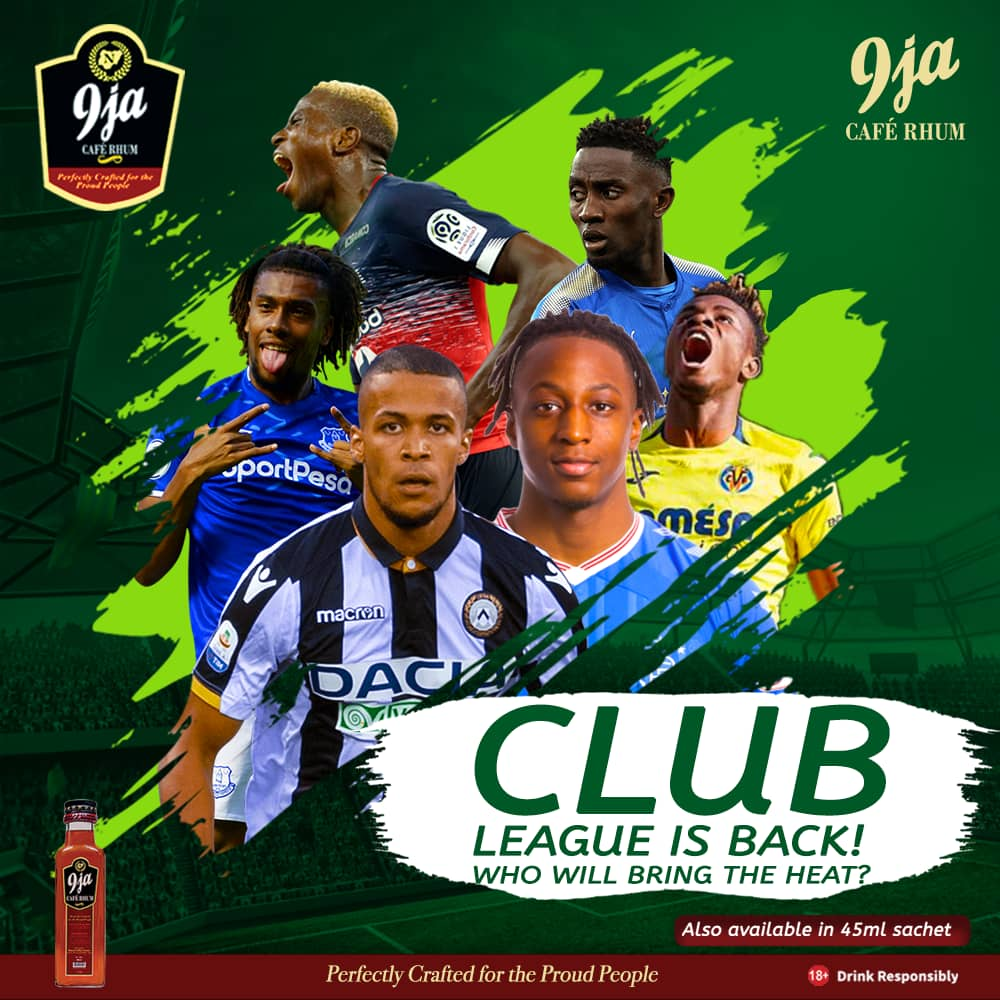 European Club Football is back this weekend and our 9ja stars will be in action. Who will perform best this weekend?   #EPL #LaLiga #SeriaA #Ligue1 #Football #9jaCafeRhum<br>http://pic.twitter.com/C677SZv0UK