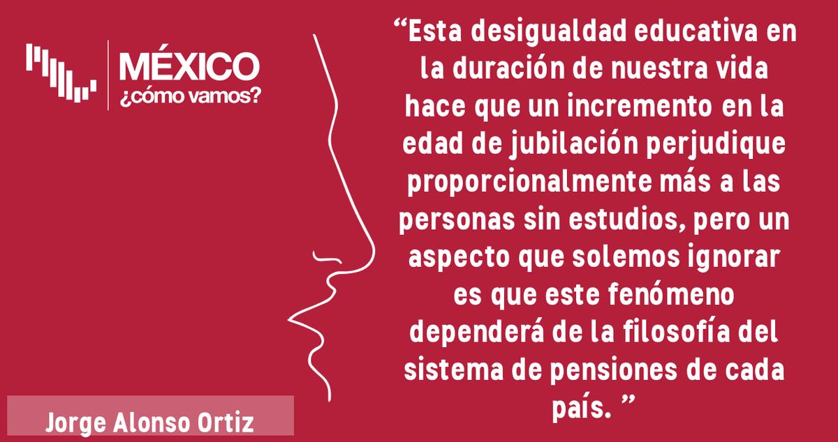 """Esta semana en el #BlogMCV en @Pajaropolitico lee a @economicliberal: """"Los países que cuentan con un sistema de pensiones de reparto, donde los trabajadores de """"hoy"""" le pagan su pensión a los trabajadores de """"ayer"""", la desigualdad puede aumentar."""" : http://ow.ly/pqey30pIPai"""
