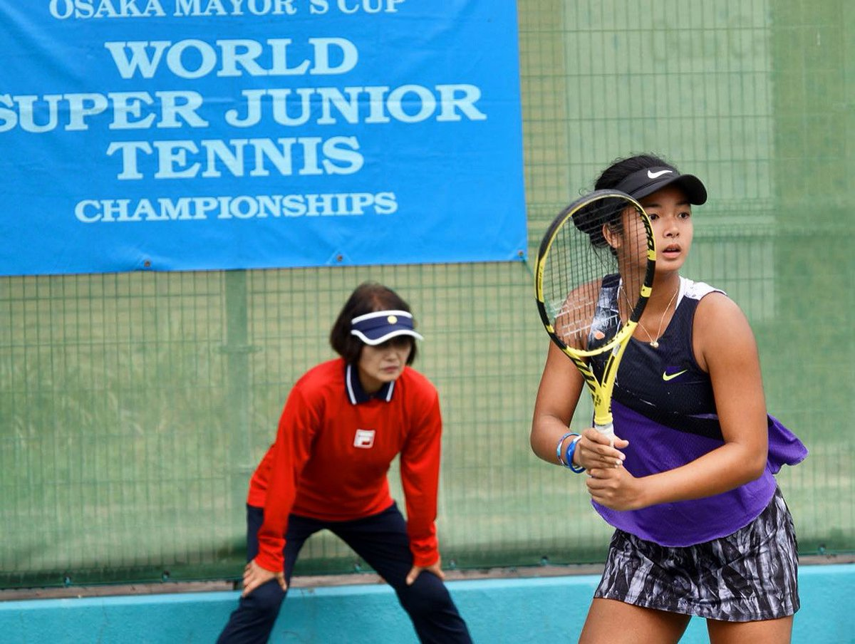 AMAZING! #RNAPlayer Alex Eala will fight tomorrow for the  in the 2019 World Super Junior Tennis Championship in Osaka. VAMOS MABUHAY! <br>http://pic.twitter.com/1QgJwWLsHy