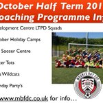 🖊OCTOBER HALF TERM🖊| To avoid disappointment, visit our website for confirmation of dates for all our coaching programmes around half term ⚽️⚽️ @cornwallfa #cornishfootball @MountsBaySchool