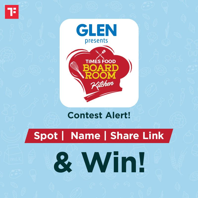 #ContestAlert!  - Watch  https:// facebook.com/TimesOfIndiaFo od/videos/954414541617823/   …  - Mark all Glen appliances you can spot & tally them on   https:// bit.ly/2nbDPfU      - Share the link from Glen website in the comment box below  Contest T&C* apply:  https:// bit.ly/2pxHMwb      Presented by:  @Glen__India  #boardroomKitchen<br>http://pic.twitter.com/ycsT6facni