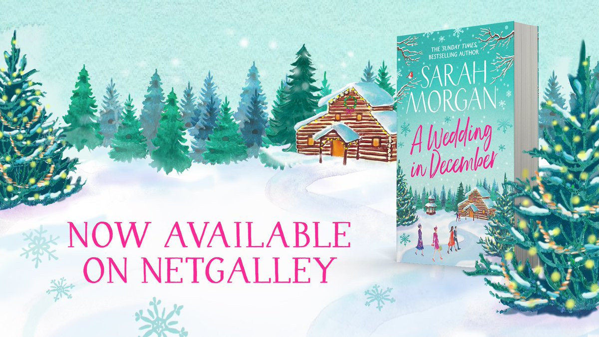 Will there be #AWeddingInDecember...? ❄️  Bloggers, you can review the wonderful new book from @SarahMorgan_ on NetGalley now: http://po.st/Review_SarahMorgan …