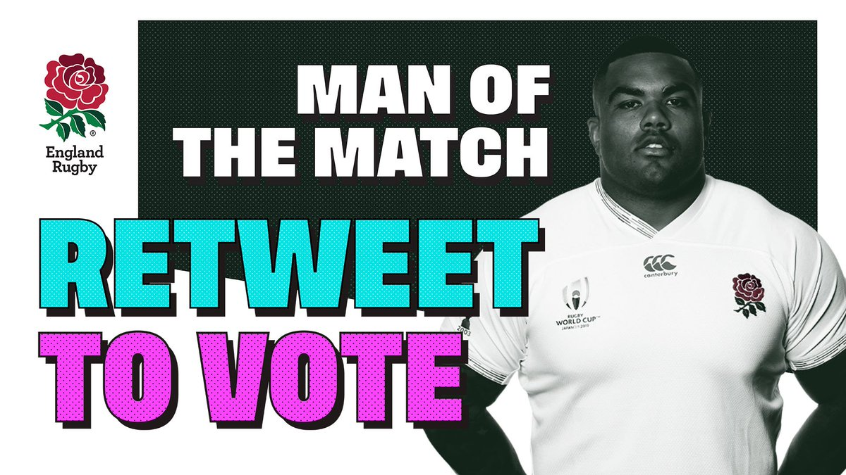 test Twitter Media - Time to vote for your Man of the Match 🌹  Retweet to vote for @KyleSinckler   #ENGvAUS #CarryThemHome https://t.co/EswjGGYCb9
