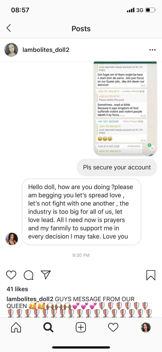 Team Mercy you guys heard it from the queen.  We need to spread love We need to pray for her We need to be unite and support her The Industry is big enough for all of them to shine We shouldn't fight #MercyMadeHistory  #bbnaija <br>http://pic.twitter.com/vdnepEncOT