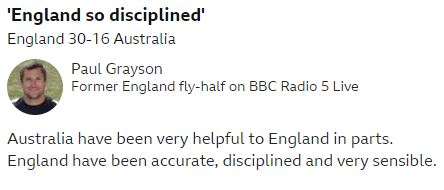 test Twitter Media - England are getting close to booking their semi-final place now...  Listen to the closing stages in Oita with @5liveSport commentary 👉 https://t.co/ZCUhUPSxRe   #bbcrugby #ENGvAUS #RWC2019 https://t.co/QlqqRyd3ei