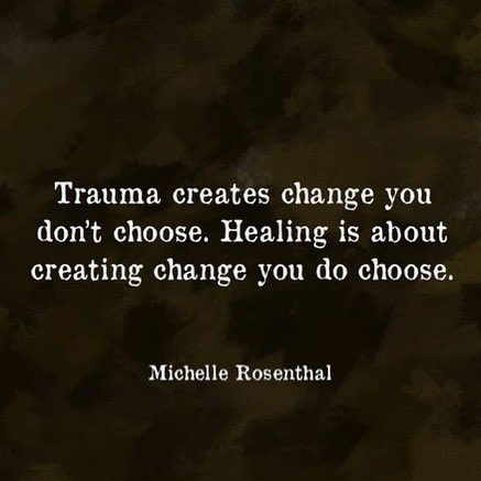 We all have choice. Even when we think we don't. Healing from pain is the best gift we could ever give ourselves.  #selflove