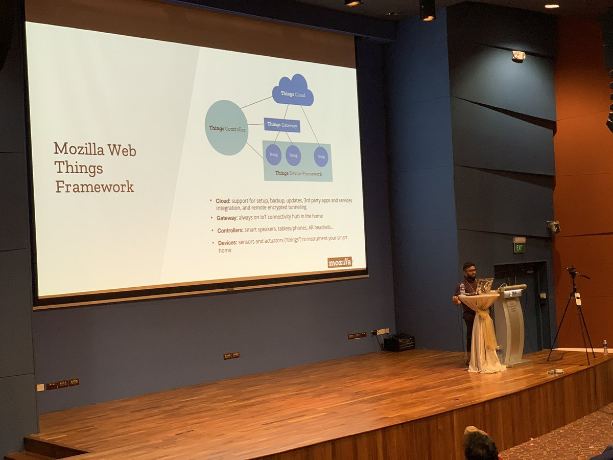 Web things framework by @mozilla comes to rescue for your dangerously connected IoT devices on The Internet, by @Diipeshmonga #geekcampsg