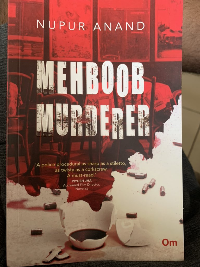 And here is the new book... after very long a murder Mistry. #book #read #reading @Nupursays