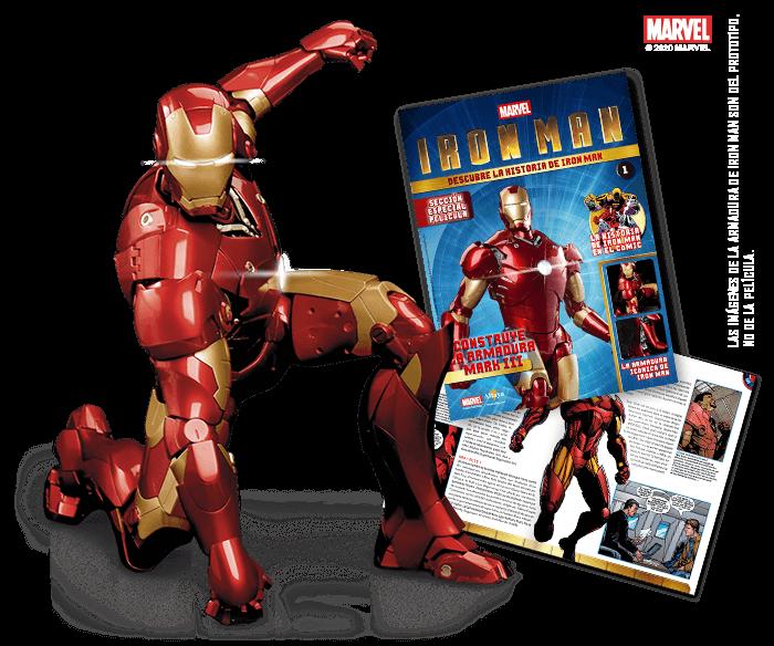 CONSTRUYE TU IRON MAN CON ALTAYA  Altaya ha puesto en marcha un nuevo coleccionable Marvel. En esta ocasión se trata de que puedas construir la armadura Mark III de Iron Man.   https://www.universomarvel.com/construye-tu-iron-man-con-altaya/…