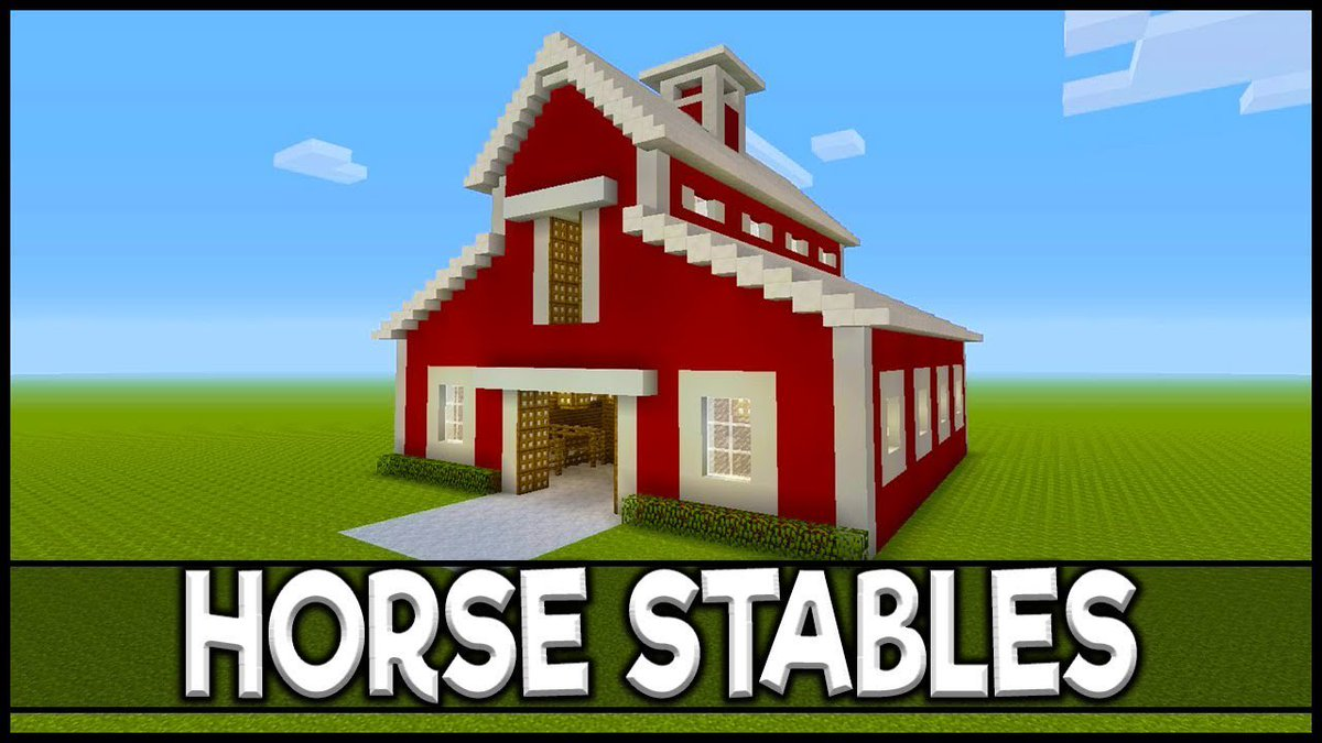 Pcgame On Twitter Minecraft How To Build Horse Stables Link Https T Co Okptoadisx Barn Easy Farm Horsestables How Howto Howtobuild Howtobuildabarninminecraft Howtobuildhorsestablesinminecraft Howtomake Minecraft Minecraftbarntutorial How to build a horse stable in today's minecraft tutorial i am going to show you how to build an awesome. build horse stables link