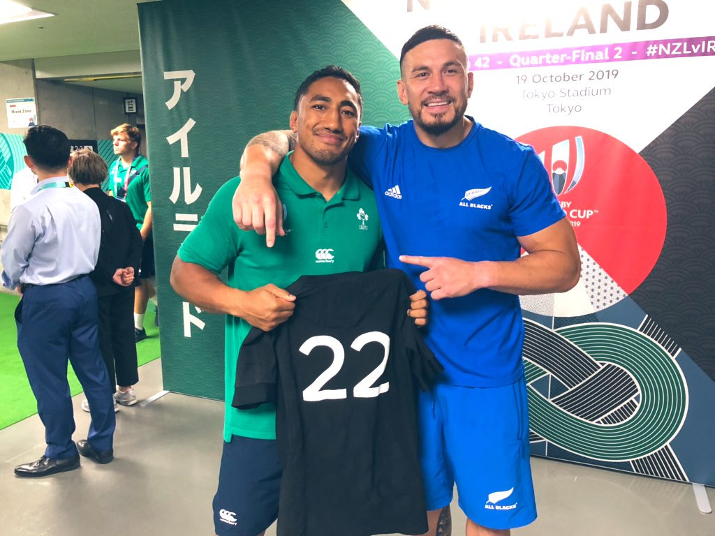 Always mad respect for the @IrishRugby lads and their fans ❤️ Nothing but love my uso @bundeeaki12 Love and blessings fam. Alhumdulliah 🤲🏽