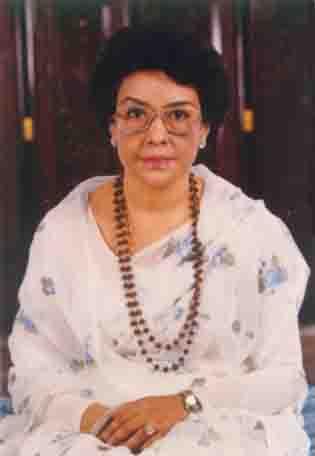 Queen Ratna Rajya Laxmi Devi Shah (born 19 August 1928)