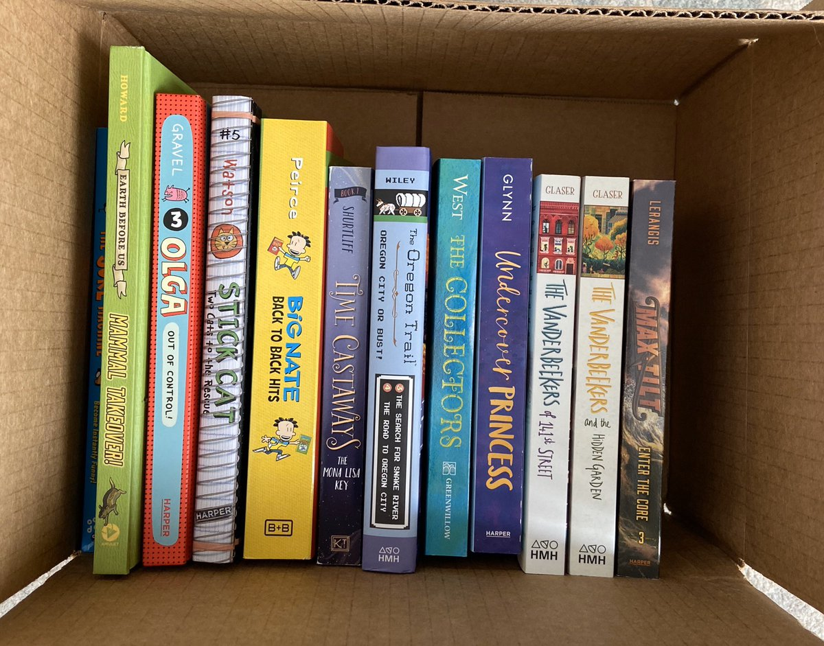 Book Giveaway!Follow & R/T to enter! Indicate which box you would like in the comments (middle grade or picture book). I'll add signed copies of Vanderbeekers 1 & 2 in the MG box.I'm doing this every week, so stay tuned! Contest ends 10/19 @ 9pm EDT. US only. #KidsNeedBooks<br>http://pic.twitter.com/RYmTZ97CjX