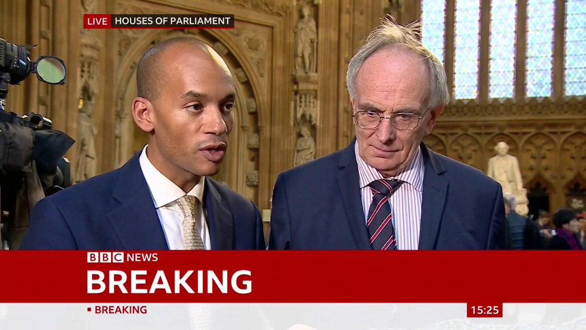"""""""I'm fed up, it's been a complete waste of time, nothing's happened, and it's spoilt my birthday"""" says Conservative Peter Bone""""It was a bad deal that's been put in front of us"""" says Liberal Democrat Chuka UmunnaLive updates: http://bbc.in/2MvI6ER #BrexitVote"""
