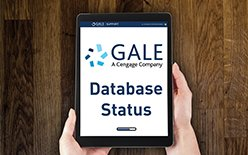 Managing #library #research this #weekend Check your #Gale #Database Status with our handy link > (link: http://bit.ly/2WhfwZu ) http://bit.ly/2WhfwZu  #uxdesign #edtech #RSS #TechCheck #weekendvibes