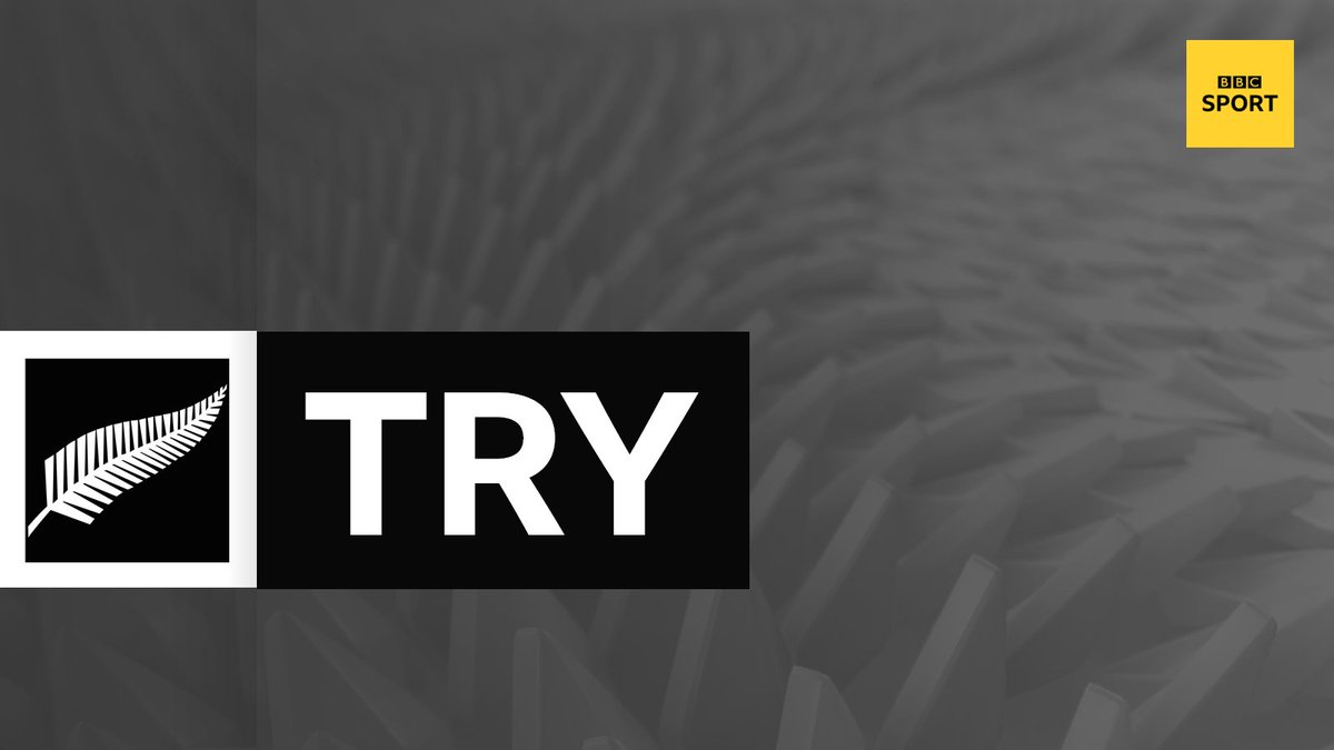 test Twitter Media - TRY!  We've barely played 30 minutes, but is that a decisive score? Beauden Barrett chases down Richie Mo'unga's kick for the @AllBlacks' third score.  New Zealand 22-0 Ireland  Live with @5liveSport commentary 👉 https://t.co/9PS1RdC16g  #bbcrugby #NZLvIRE https://t.co/hyebbw675X