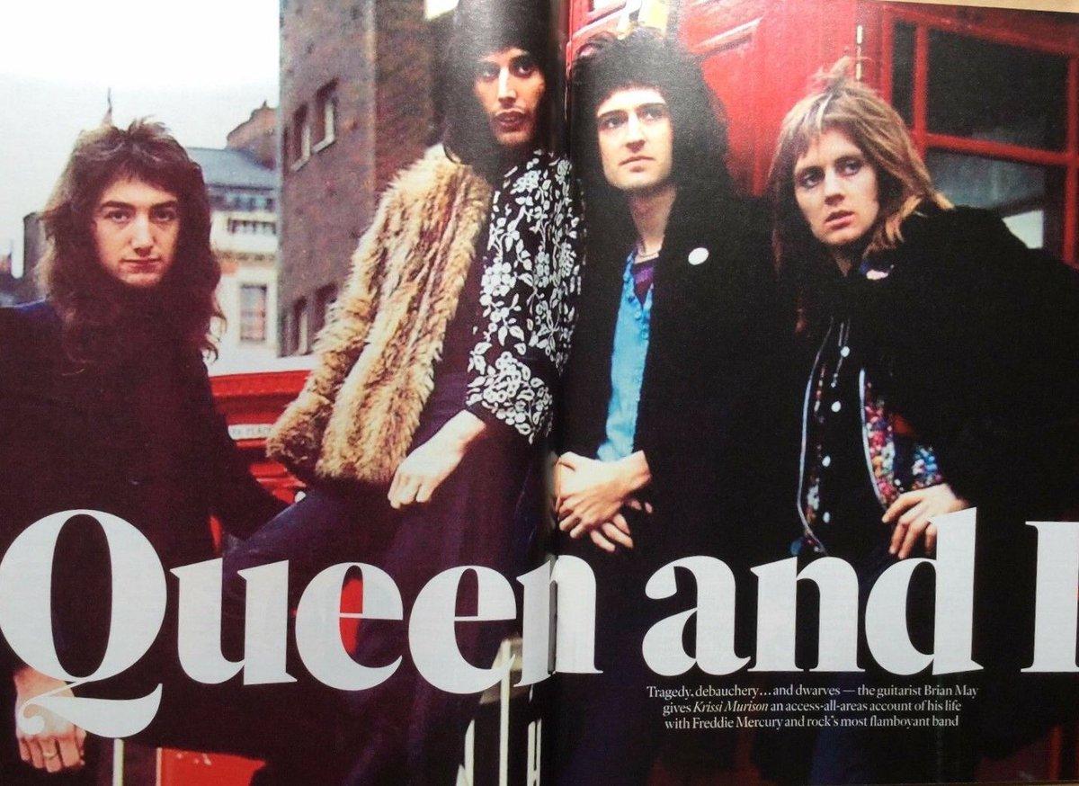 ブライアン、2017年のインタビュー記事を訳しました。こちらのnoteです →  著書 Queen in 3-Dのプロモーションで英高級紙 The Times 日曜版の取材に応じたもの。とても長いです。(スレッド)