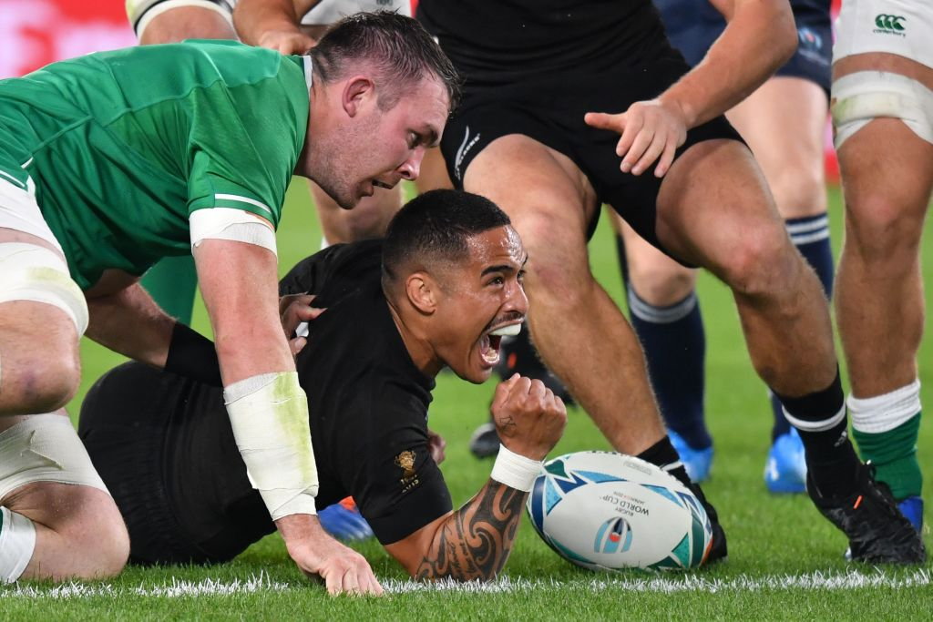 test Twitter Media - 🏉 Follow live updates as New Zealand 🇳🇿 are in control with a 22-0 lead over Ireland after 40 minutes of their #RWC2019 quarter-final  Blog: https://t.co/Hgj1OIMAqv  #NZLvsIRE https://t.co/vVwCeutKwt